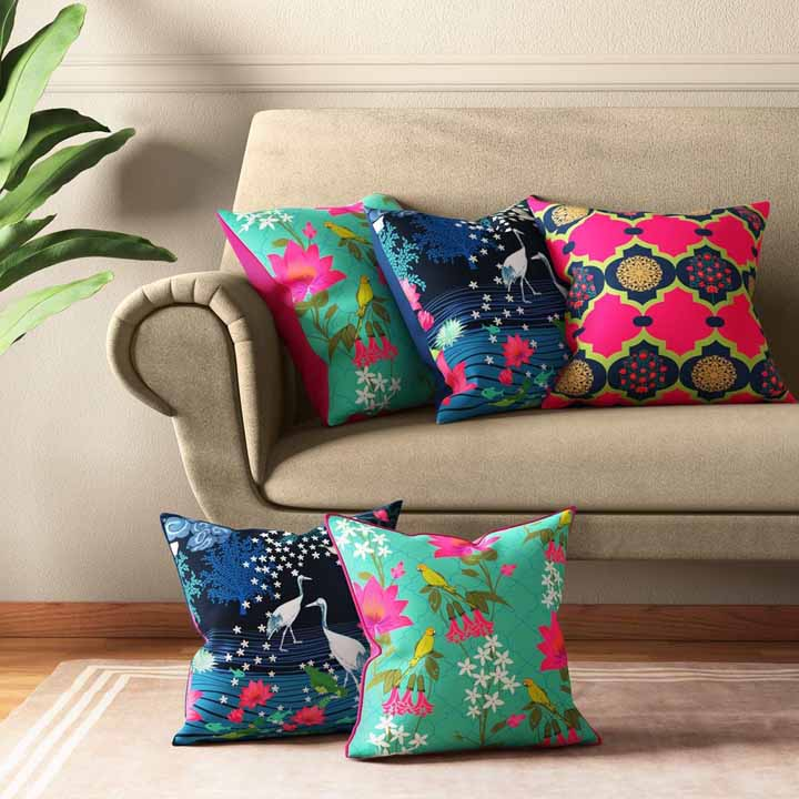 printing on cushion cover